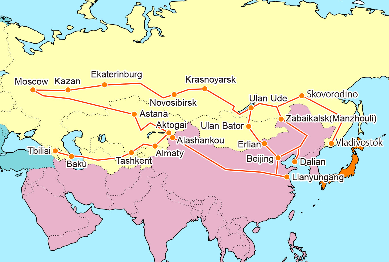 novosibirsk map russia